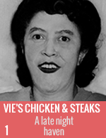 Vie's chicken and steaks