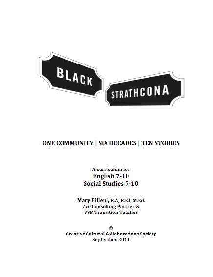 Black Strathcona Student Study Guide
